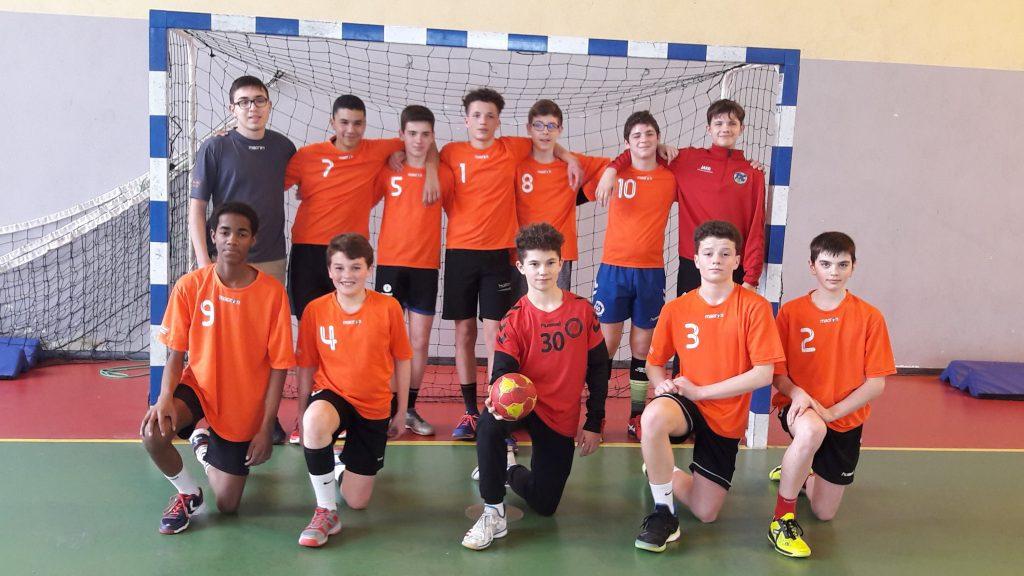 Minimes Garçons Champions Académiques de Handball